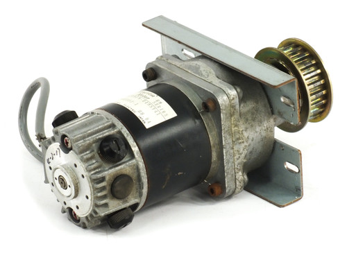 Yaskawa Minertia Motor RM Series Servo Motor With 5:1 Gear Box and Belt Pully