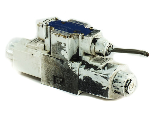 Yuken DSG-01-3C40-D24 Solenoid Operated Directional Valve 26.4 GPM Maximum Flow