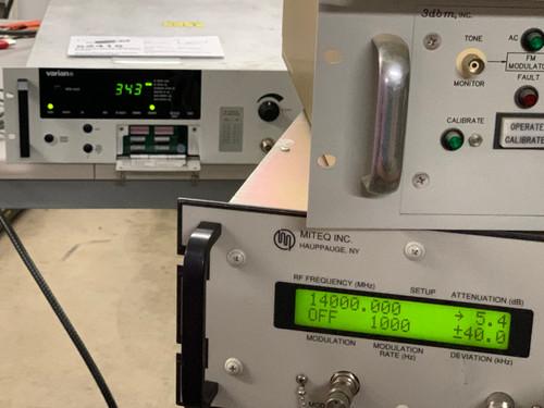 "Varian VZU-6994-AB 400 Watt TWTA HPA CMPA 19"" Rack Mount- Ku Band Tested Working"
