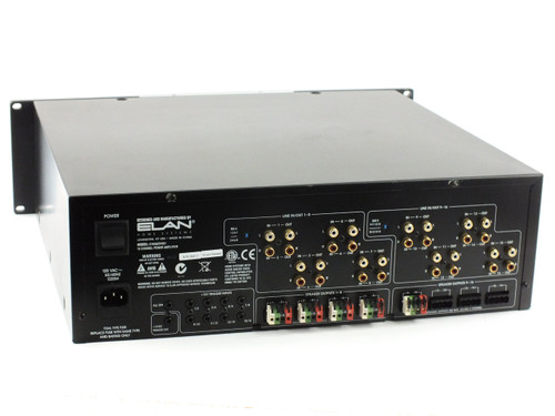 Elan Home Systems D1650 16-Channel Power Amplifier - Damaged Internals - As Is
