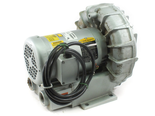 Gast R5325A-2 Regenair Regenerative Blower Max 160 cfm 2.5hp Motor 3 phase