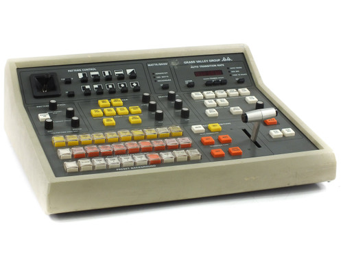 Grass Valley Group GVG-100 Production Editing Video Switch Controller 8 Input