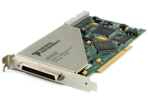 National Instruments 6035E 200kS/s 16-bit Multifunction I/O Board PCI 16 Inputs