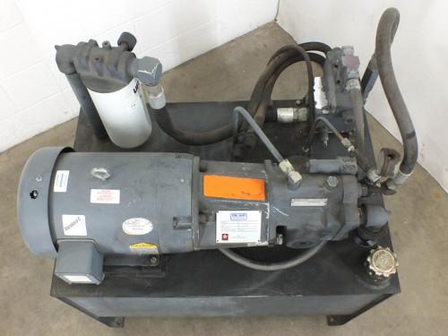 Oil-Air Products OAP2926 Hydraulic Oil Pump and 50 Gallon Reservoir Use Rando HD