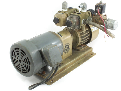Orion Dry-Pump KRX5-VP-01 Vacuum Pump with 1 HP Hitachi 3 Phase Induction Motor