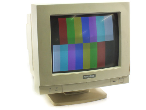 "CompuAdd TE1464M 14"" CRT 15-Pin VGA Color Monitor Display - Vintage 1993"