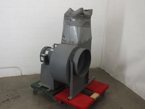 Cincinnati Fan HDBI-150 Centrifugal Fan 3500 RPM 10 HP Baldor Industrial Motor