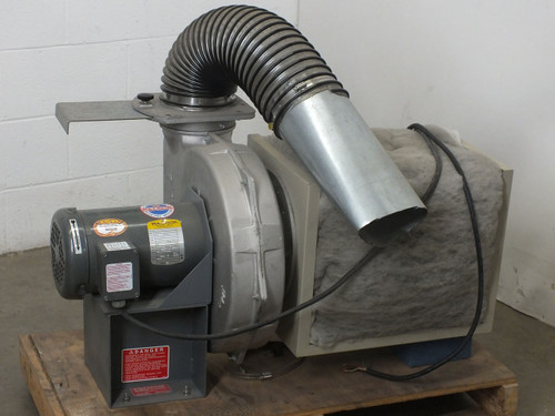 Cincinnati Fan 278908 Blower with Baldor VM3559 3 HP 3450 RPM Motor