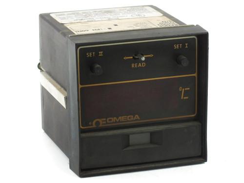 Omega 4002-JC-F Temperature Controller Dual Set Point Range: 0-500C Load: 4-20MA