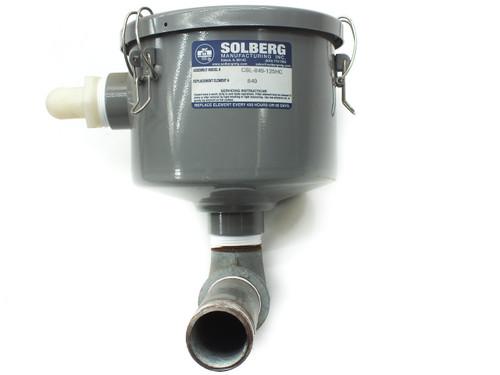 Solberg Manufacturing Inc. CSL-849-125HC Vacuum Pump Corrosive resistant finish