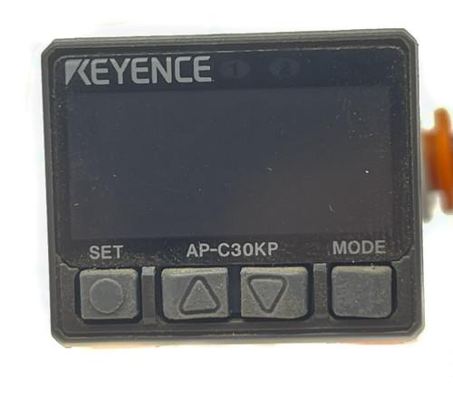 Keyence AP-C30KP Ultracompact Digital Pressure Sensor for Air/noncorrosive gases