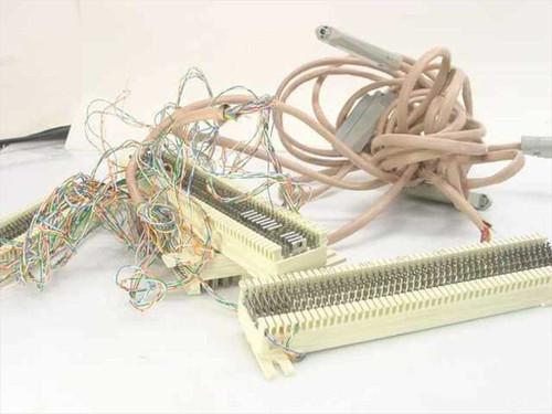 Generic 50-Pair Punch Down Telco Terminal Block w/ Panel R66MI-50