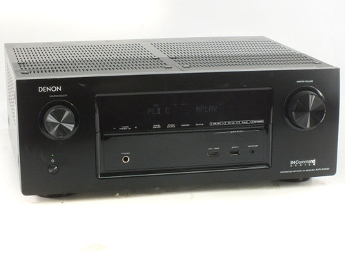 Denon AVR-X3000 AV Receiver 7 Channel 180W with DTS-Neo:X, AirPlay, Spotify
