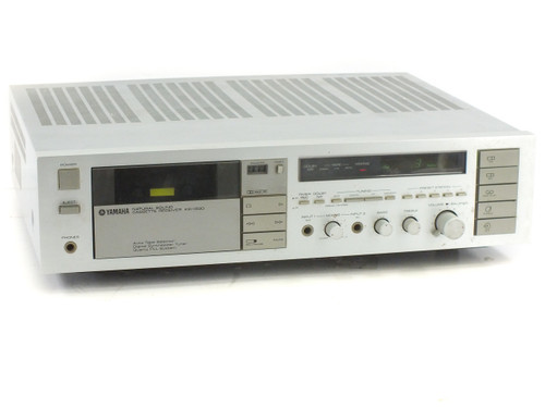 Yamaha KR-1000 2-Ch Tape Cassette Receiver with Radio - Bad Tape Player - As Is