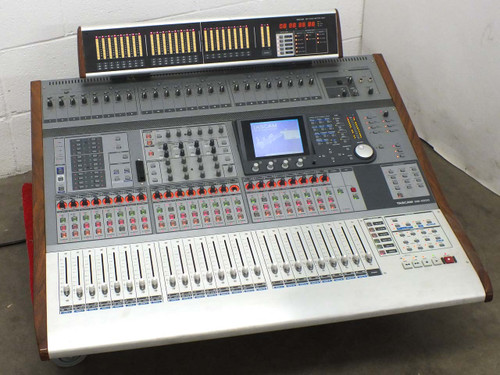 Tascam DM-4800 Digital Mixing Console 64-channel with MU-1000 24-ch Meter Bridge