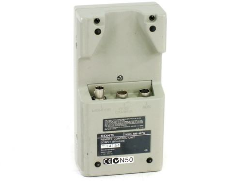 Sony RM-M7G Remote Control Unit for DXC-M7 Series