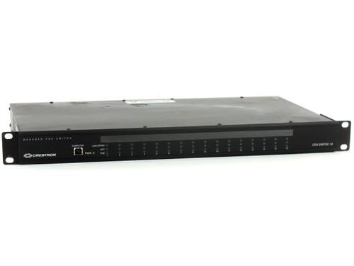 Crestron CEN-SWPOE-16 16-Port Managed PoE Switch -19 in. Rackmount - 1000Base-T