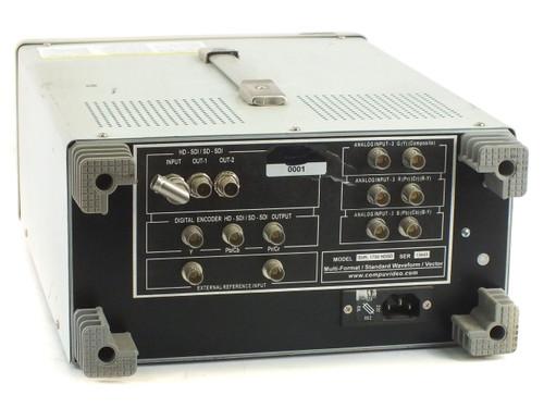 Compuvideo SVR-1700 HDSD Waveform Vectorscope HD/SD-SDI - No Fuse Caps - As Is