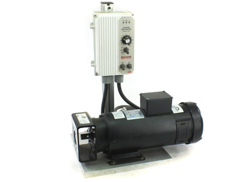 Leeson C14D6FZ1B Motor w/ Baldor NEMA 4X IP 65 Speed Control