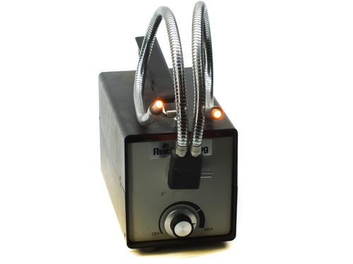 Cambridge Instruments 1177 Fiber Optic Microscope Lamp Dual Gooseneck Scientific