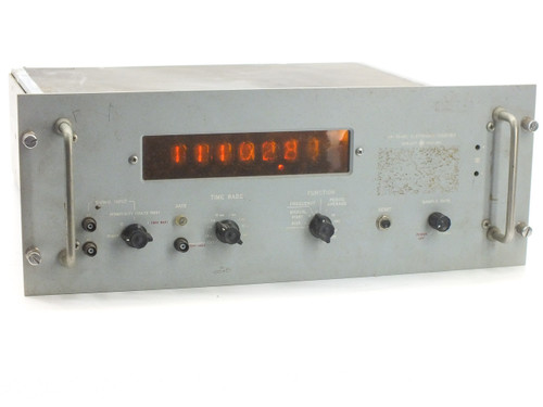 HP 5244L Electronic Counter Hewlett-Packard H41 H4I - Vintage Nixie Tubes