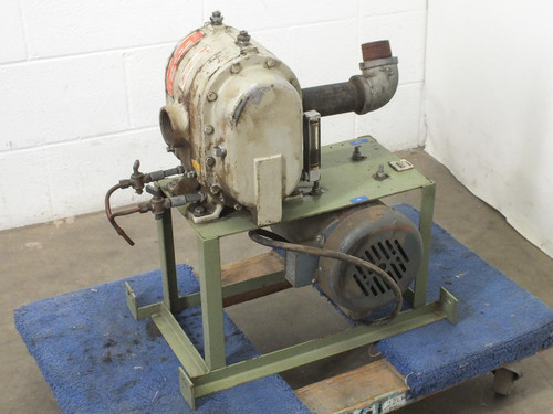 MD Pneumatic 11-3202.5 Belt Drive Vacuum Pump with 115/230V Robbins 1HP Motor