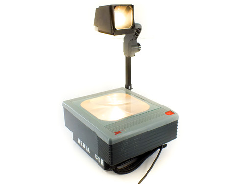 3M 9080 Overhead Projector Model 9000A - Portable with Folding Arm - 82V Lamp