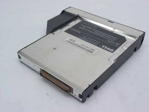 "Dell 3.5"" 1.44MB Floppy Disk Drive Module for Laptop 9802P - AS IS"