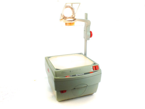 Apollo V3400 3400 Series Overhead Transparency Projector 120 Volt AC