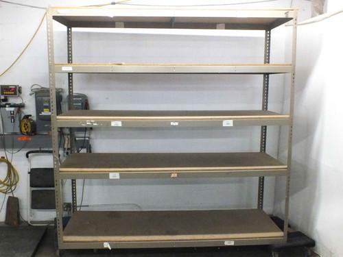 Boltless 96 x 36 x 96 Heavy Duty 5 Shelf Boltless Rivet Warehouse Shelving