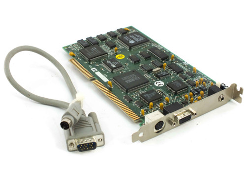 Sigma Designs 53-000417 RealMagic 16-Bit ISA MPEG Decoder Card with 8-Pin Cable