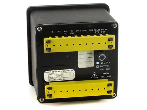 Signet P58540-1 Flow Meter 0-30 GPM 120V 1/4A