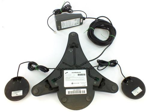 Polycom SoundStationEX Conference Phone 2201-03309-001 with 2 External Mics