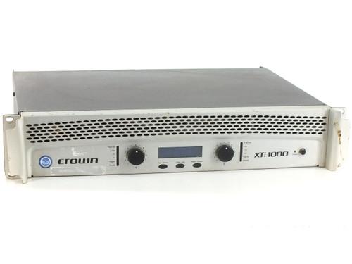 Crown XTi 1000 Power Amplifier w/DSP 275W per Channel 8 Ohms - No Power - As Is
