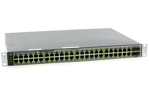HP J9984-60001 48-Port OfficeConnect Ethernet Networking Switch 1820-48G-PoE