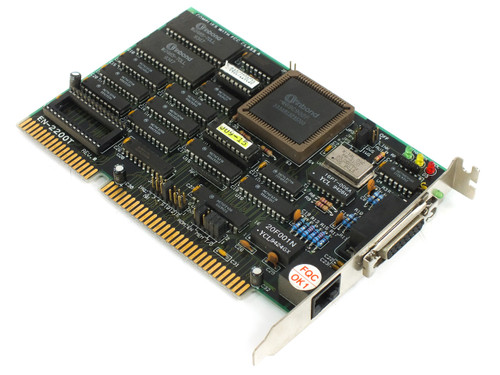 Danpex EN-2200T 16-Bit ISA Network Card for DOS Win95 + 98 (W89C902P / NE2000)