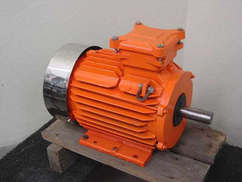 Kingmotor LR36807 7.5HP High Efficiency Severe Duty Motor - 230/460 VAC 3-Phase