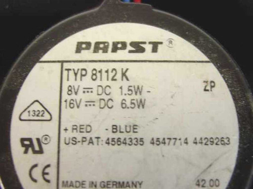 Generic CPU Exhaust Fans 16V 48V
