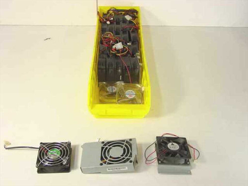 Various Case Fan 12 Volt 0.19 - 0.23A Cooling Fan for Computer Cases