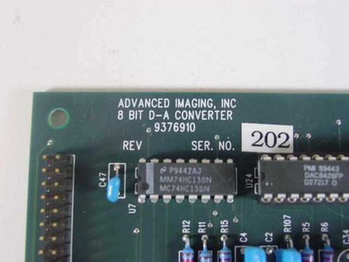 Advanced Imaging 8 Bit D-A Converter PCB 9376910