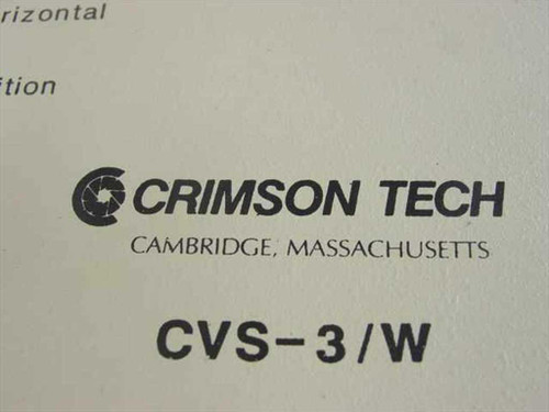 Crimson Tech Coax Converter CVS-3/W