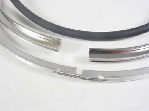 Balzers BP-226-106-T Vacuum Chamber O-Ring w/Housing