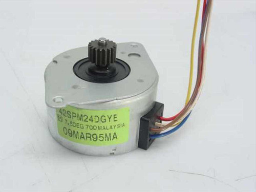 Panasonic 42SPM24DGYE Stepper Robotic Motor 42SPM 5 Volt 250 mA 2-Phase