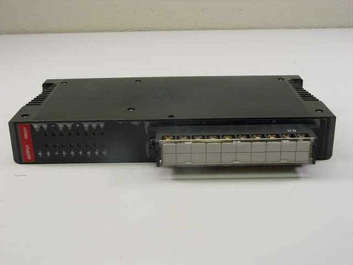 GE Fanuc IC630MDL380A 16 Circuit Relay Output Module with Bus Bar Cover