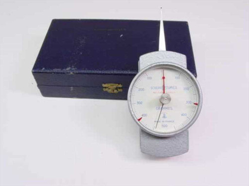 Scherr-Tumico Precision Dial Dynamometers 100-500 Grams 2.5 Inch 62-6381-00