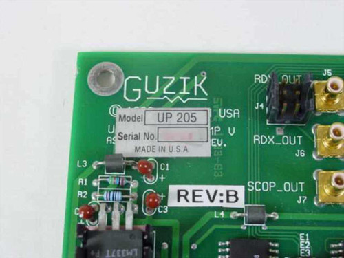 Guzik PCB UP-205 Rev: B