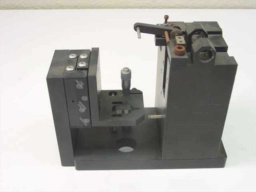 Unbranded Custom Inspection Assembly with Daedal Linear Slide and Micrometer