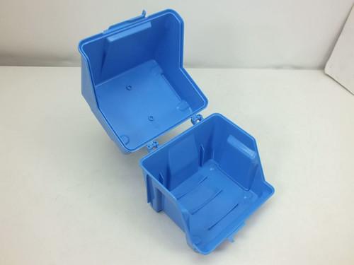 """Fluoroware E124-60 6"""" Silicon Wafer Container Entegris Robox Ultra Pack -No Lock"""