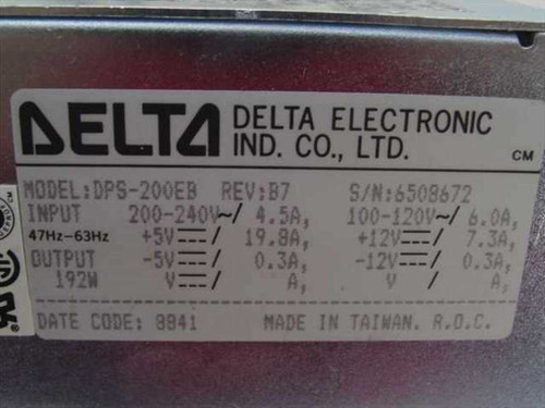 Delta Electronics 192W AT Style Vintage Power Supply Heavy Duty (DPS-200EB)