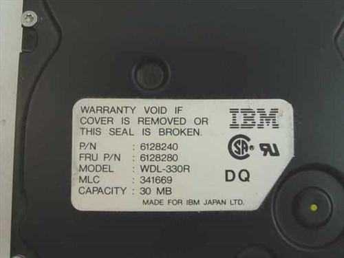 IBM 30MB MCA Hard Drive for 8550 / 8555sx - WDL-330R 6128280